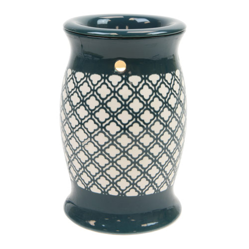 Teal Green Electric Warmer for Crystal Potpourri & Oil