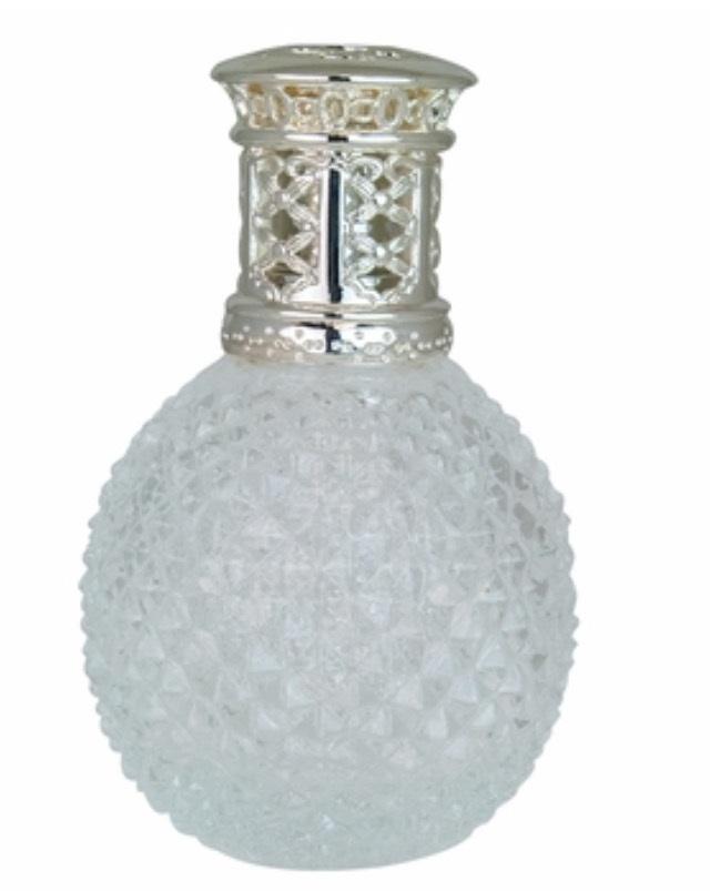 Clear Diamond Cut Catalytic Fragrance Lamp
