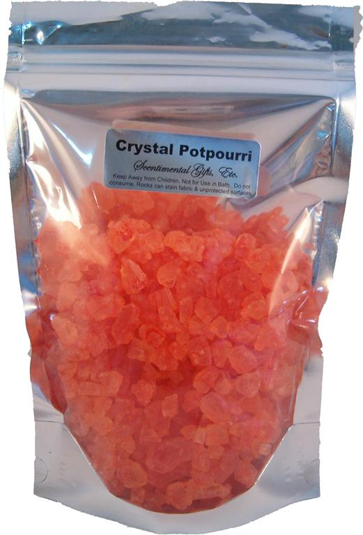 Crystal Potpourri 1 lb. Stand-Up Pouch - Click Image to Close