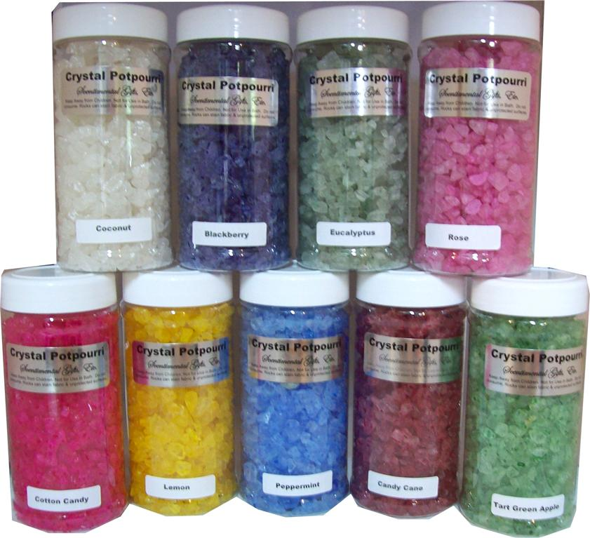 Crystal Potpourri 8 oz. Jar