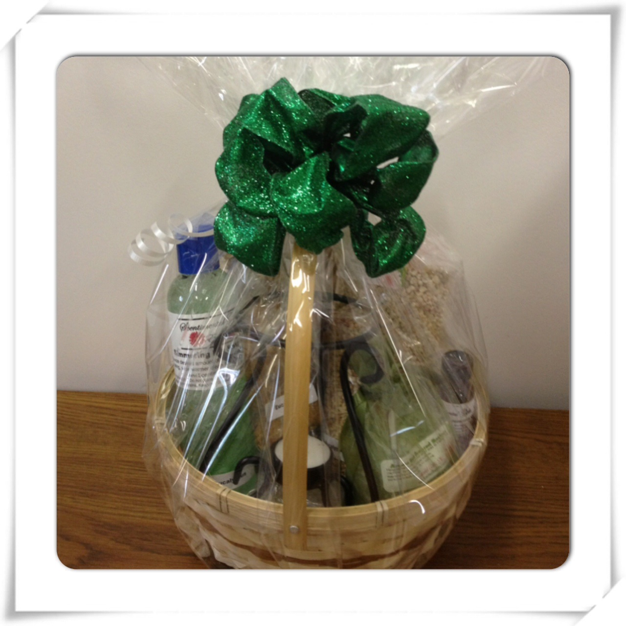 Peppermint Aromatherapy Gift Basket