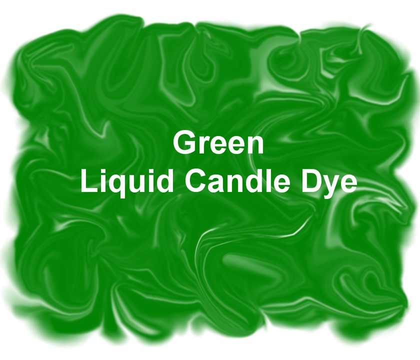 Green Liquid Candle Dye 1 oz.