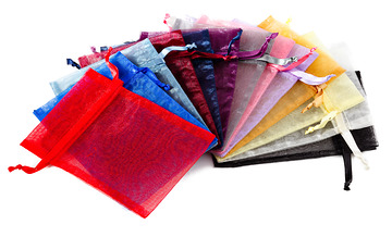 "4""x6"" Organza Bags (Package of 50)"