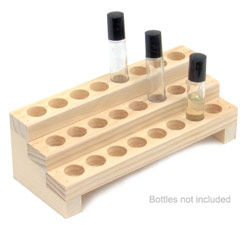 Small Body Oil Display Rack (Holds 24 1/3 oz. Roll-on Bottles)