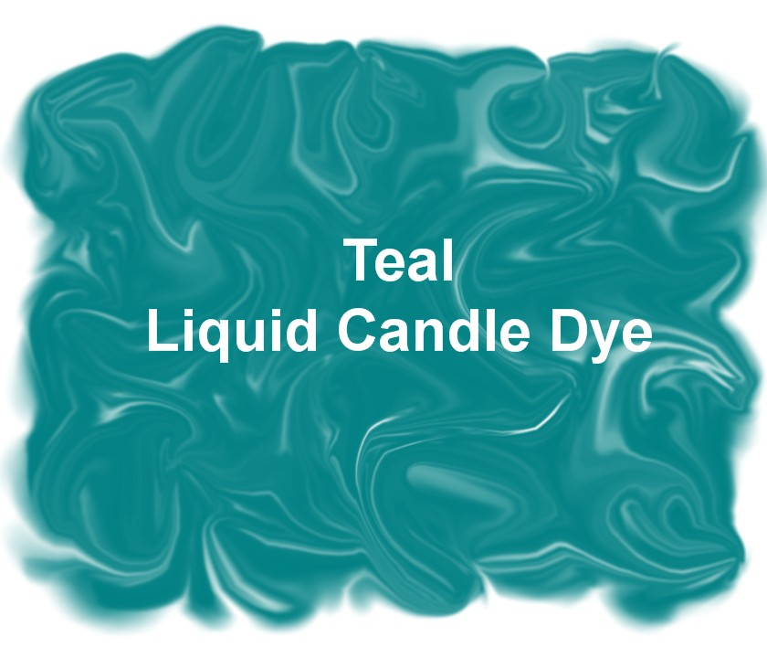 Teal Liquid Candle Dye 1 oz.