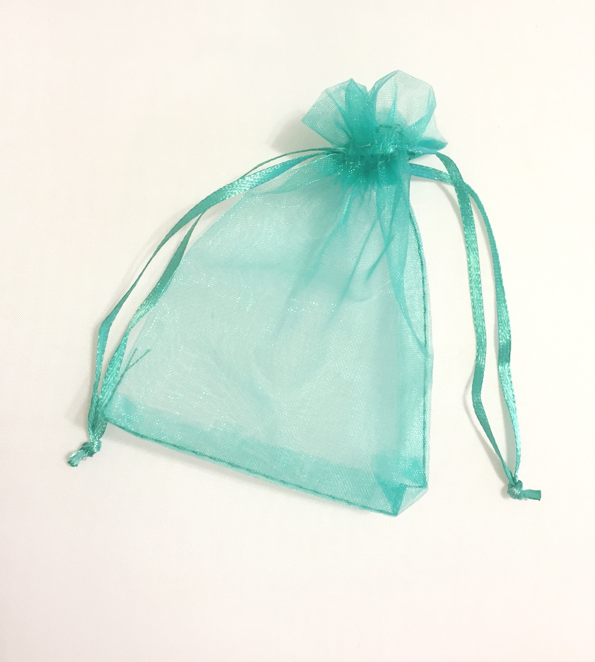 "Teal Green 3""x4"" Organza Bag"